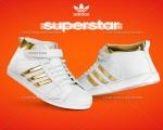 کفش ساق دار Adidas SuperStar